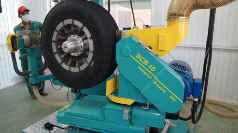 DRC đưa vào vận hành dây chuyền đắp lốp nguội (13/9/2016)