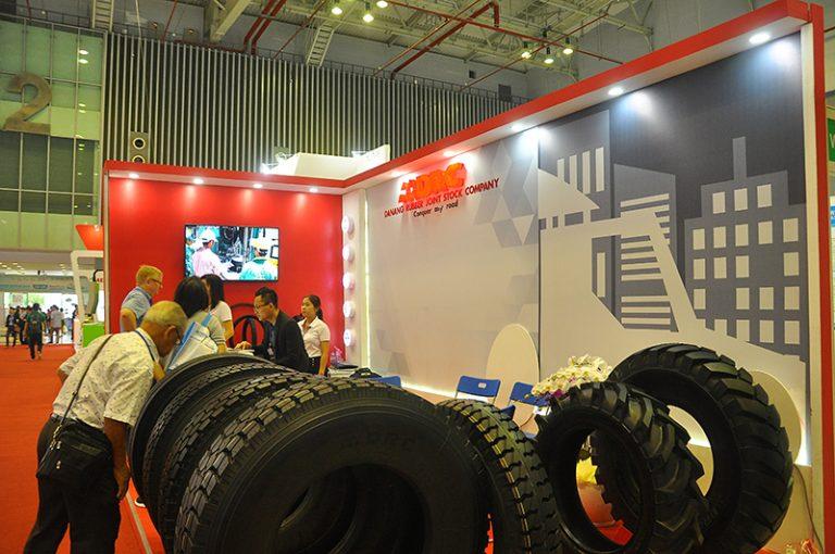 DRC tham dự triển lãm Rubber & Tyre Việt Nam 2017 (14/6/2017)